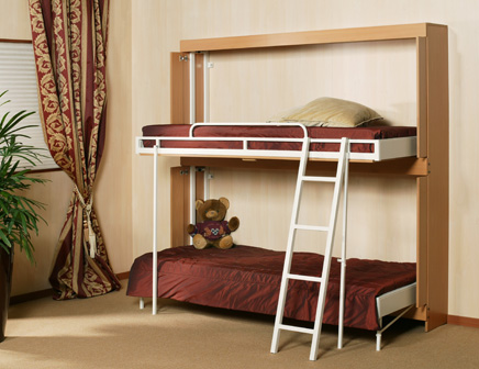 Wall Folding Beds Into Wall Folding Wall Bunk Bed ...