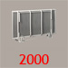Click here for more information on our 'Wiskaway'® 2000 Wallbed